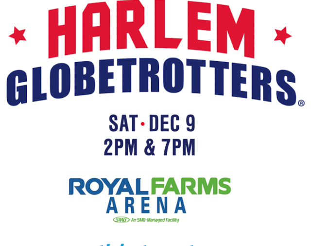 Watch The Harlem Globetrotters On December 9th
